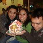 Winter Break: Gingerbread house!